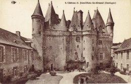 Cpa Chateau De Jumilhac Le Grand - Frankrijk