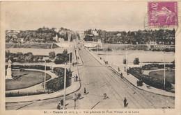 CPA - France - (37) Indre Et Loire - Tours - Vue Générale Du Pont Wilson Et La Loire - Tours