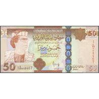 TWN - LIBYA 75 - 50 Dinars 2008 Series 1 - Various Prefixes UNC - Libye