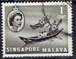 MALAY  # SINGAPORE  FROM 1955  STAMPWORLD 28 - Gran Bretaña (antiguas Colonias Y Protectorados)