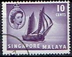MALAY  # SINGAPORE  FROM 1955  STAMPWORLD 34 - Gran Bretaña (antiguas Colonias Y Protectorados)
