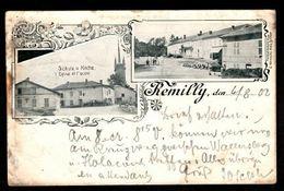 57 - REMILLY - Eglise Et Ecole - - Altri Comuni