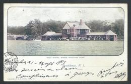 +++ CPA - Amérique - Etats Unis - Rhode Island - PROVIDENCE - Boat House , Roger Williams Park   // - Providence