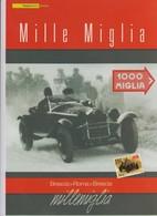 """Italia Rep. 2009 - Folder Di 4 Pagine """" MILLE MIGLIA, BRESCIA-ROMA-BRESCIA"""" - Automovilismo"""