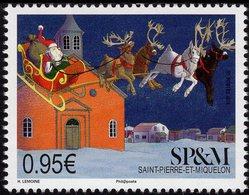 St. Pierre & Miquelon - 2018 - Christmas - Mint Stamp - St.Pierre & Miquelon