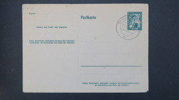 Sarre Entier Postal CP 43A ( Tirage Local)  Obliteration  St Wendel 1953 , Local Postal Stationery - Entiers Postaux