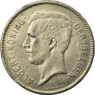 Monnaie, Belgique, 5 Francs, 5 Frank, 1933, TB, Nickel, KM:98 - 1909-1934: Albert I