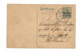 Oorlog 1914-1918 Kamp Zeist Holland Stempel Lütich Aachen 1915 Camp2 - War 1914-18