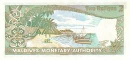 MALDIVES P.  9a 2 R 1983 UNC - Maldives