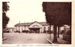 91 CORBEIL - La Gare, Près De L'avenue Darblay - Corbeil Essonnes
