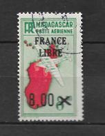 PA : 1942 : Surcharge France Libre. N°54 Chez YT. (Voir Commentaires) - Madagascar (1889-1960)