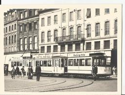 Photo - Tramway - Certainement Strasbourg - Pub Mutzig Pils - Bière - Trains