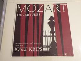 Mozart, Ouvertures Josef Krips - (Titres Sur Photos) - Vinyle 33 T LP - Klassik