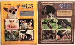 # Liberia 2010**Mi.5643-50  Dogs , MNH [11;242-243] - Hunde