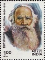 USED STAMPS India - The 150th Anniversary Of The Birth Of Le.. -  1978 - India
