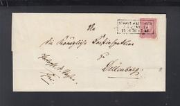 Dt. Reich Falthülle 1876 Kastenstempel - Briefe U. Dokumente