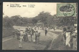 +++ CPA - Entier Postal - Afrique - Congo Belge - BOMA - Le Dimanche   // - Congo Belge - Autres