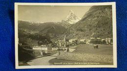 Zermatt Et Le Cervin Pont De La Ligne Du Gornergrat Switzerland - Svizzera