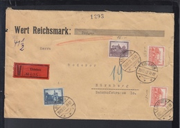 Dt. Reich Wertbrief Eisleben 1932 Mangelhaft - Briefe U. Dokumente