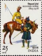 USED STAMPS India - The 175th Anniversary Of Skinner's Horse-  1978 - India