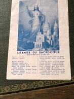 Litanies Du Sacré-Coeur (plaquette De 9 Cm Sur 14 Cm) - Religion & Esotérisme