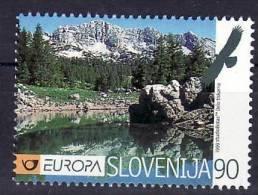 1368/ Slowenien Slovenia Slovenie Europa CEPT 1999 Mi.No. 259 ** MNH Natur Mountains Bird ..... - Slovenia
