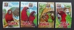 Tonga 2002* Mi.1639-42. Parrots MNH [21;125] - Parrots