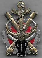 Groupe Mixte Artillerie Coloniale De L' Emyrne - Insigne émaillé Drago 1436 - Armée De Terre