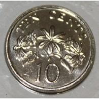 SINGAPOUR - KM 100 - 10 CENTS 1999 - FDC - Singapur