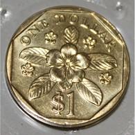 SINGAPOUR - KM 103 - 1 DOLLAR 1999 - FDC - Singapur
