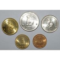 MYANMAR - SERIE 5 PIECES - 1999 - SUPERBE A FLEUR DE COIN - - Myanmar