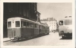 Photo- Tramway à Nancy - Trains