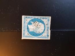 N°14, 20 Cts Bleu, PC 645, Castillonnes, Lot Et Garonne. - 1849-1876: Période Classique