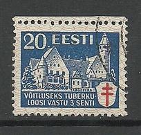 ESTLAND ESTONIA 1933 Michel 105 O - Estonie