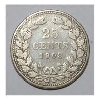 NETHERLANDS - 25 CENTS 1903 - BEAU + - - [ 3] 1815-… : Kingdom Of The Netherlands