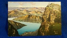 Monte Generoso E Lago Di Lugano Switzerland - Svizzera