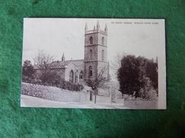 VINTAGE UK: WESTON SUPER MARE St John's Church Sepia 1905 Ettlinger - Weston-Super-Mare