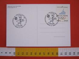 A.08 ITALIA ANNULLO - 2003 BIELLA TENNIS SPORT INTERNAZIONALI FEMMINILI 4^ EDIZIONE CARD CIRCOLO CAMPI TERRA ROSSA - Tennis