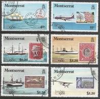 """Montserrat. 1980 """"London 1980"""" Int Stamp Exhibition. Used Complete Set. SG 113-114 - Montserrat"""