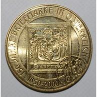 AUSTRIA - 20 SCHILLINGS 2000 - 150 ANS DU TIMBRE AUTRICHIEN - FDC - - Autriche