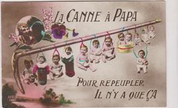 Fantaisie  La Canne A Papa Pour Repeupler - Tarjetas De Fantasía