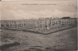 DOMPIERRE EN SANTERRE Le Cimetiere Militaire Français 235K - Autres Communes