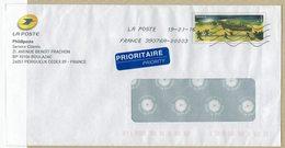 FRANCE 2016  LETTRE E.P. LA POSTE ANNIVERSAIRE DU DEBARQUEMENT BATEAUX - Militaria