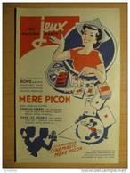 T024 / Pub Fromage Crème De Gruyère Mère Picon - Cinémagic Mickey WDP - Factures