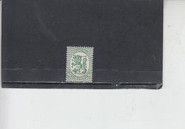 FINLANDIA 1925-29 - Unificato 112A  A - Leone - Finlandia