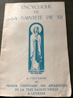 Encyclique De Sa Sainteté Pie XII - Religion & Esotérisme