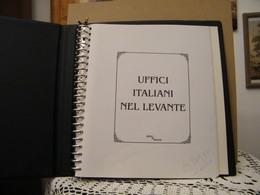 MONDOSORPRESA, ALBUM CON FOGLI (USATO) ITALIA UFFICI DEL LEVANTE, ALBUM PAVONE - Boites A Timbres