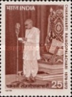 USED STAMPS India - The 100th Anniversary Of The Birth Of Ch -  1978 - India