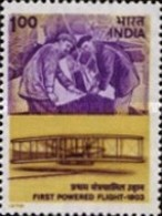 USED STAMPS India - The 75th Anniversary Of Powered Flight -  1978 - India