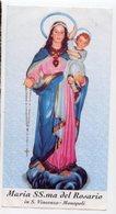 Monopoli (Bari) - Santino MARIA SS.MA DEL ROSARIO Chiesa Di San Vincenzo - P90 - Religione & Esoterismo